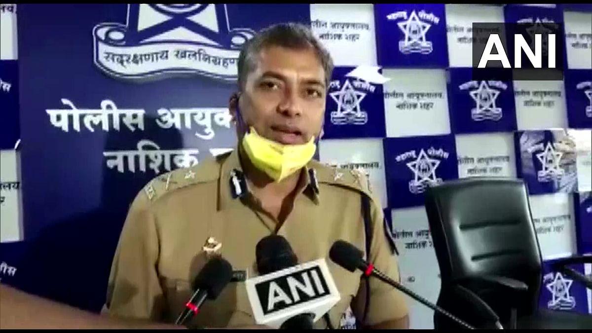 Deepak Pandey, Commissioner of Police, Nashik City