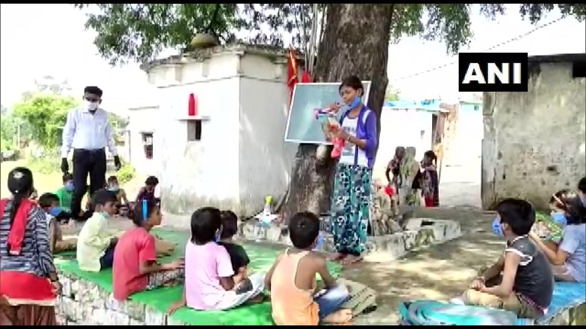 Mobile school in Sagar district