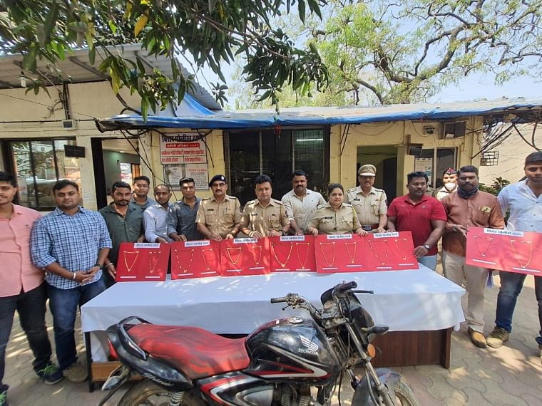 Virar: Chain snatcher involved in 14 cases nabbed by cops, gold worth Rs 5.24 lakh recovered