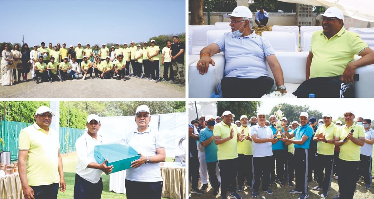 NBCC organises Unity Cup Tennis Ball Cricket Tournament