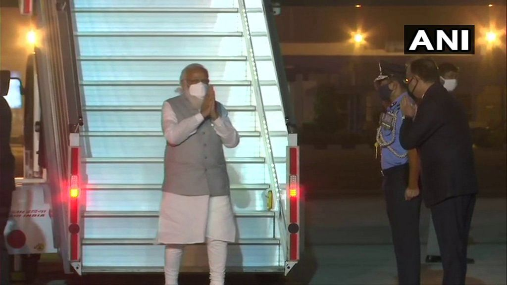 PM Modi lands in Delhi after concluding two-day Bangladesh trip