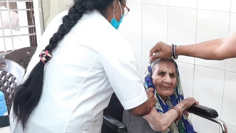 Covid vaccination in Madhya Pradesh: On Day 2, a small village Kukshi in Dhar achieves 220 percent target