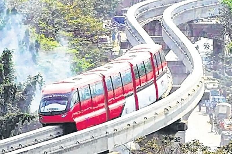 Mumbai: Monorail sees just 5,000 ridership in a day