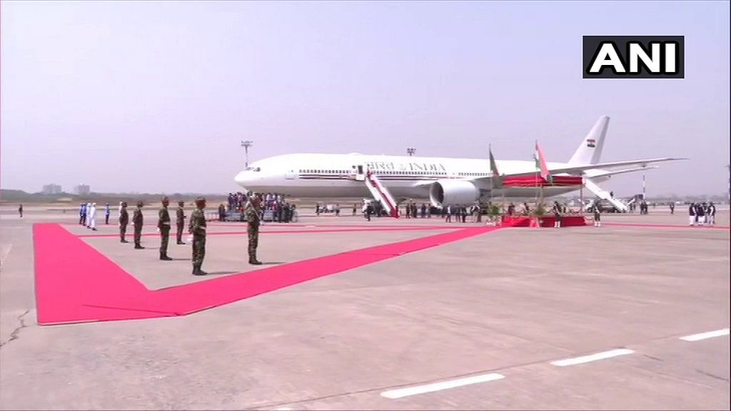 Prime Minister Narendra Modi arrives in Dhaka on a two-day visit to Bangladesh