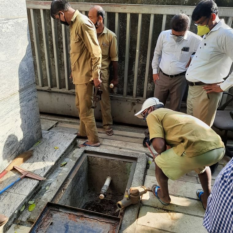 BMC disconnects sewer lines of property tax defaulters