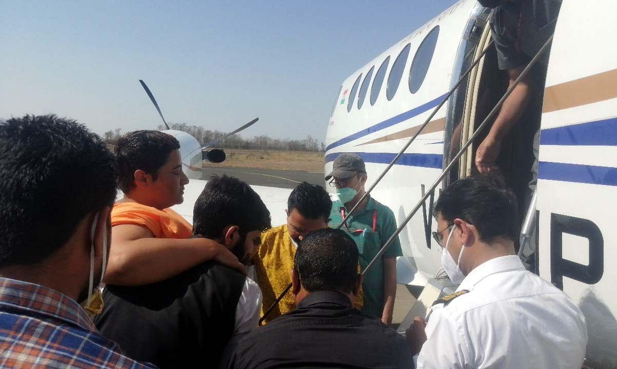 Bhopal: Pragya Thakur unwell, airlifted to Mumbai