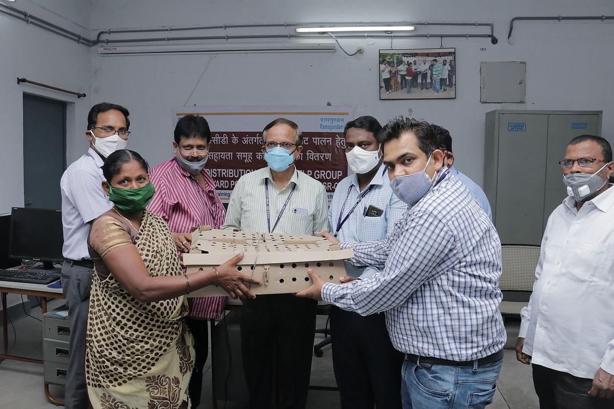 NTPC-Ramagundam promotes backyard poultry farming
