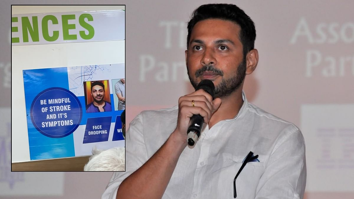Apurva Asrani shocked to see Delhi hospital using his Bell's Palsy picture for 'stroke and its symptoms' poster