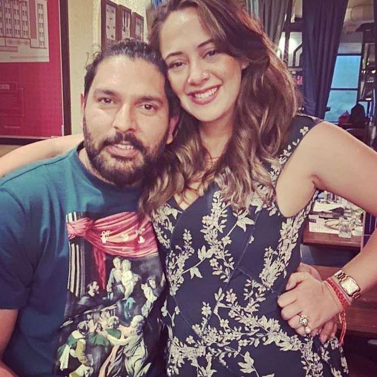 Yuvraj Singh's wife Hazel Keech's birthday pics spark pregnancy rumours