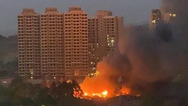 Fire at Goregaon: Level 3 fire breaks out in godown