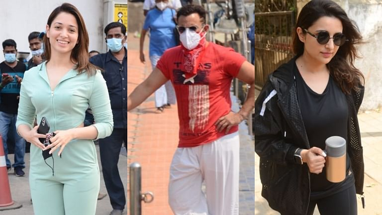 In Pics: Saif Ali Khan, Tamannaah Bhatia and others clicked by shutterbugs in Mumbai
