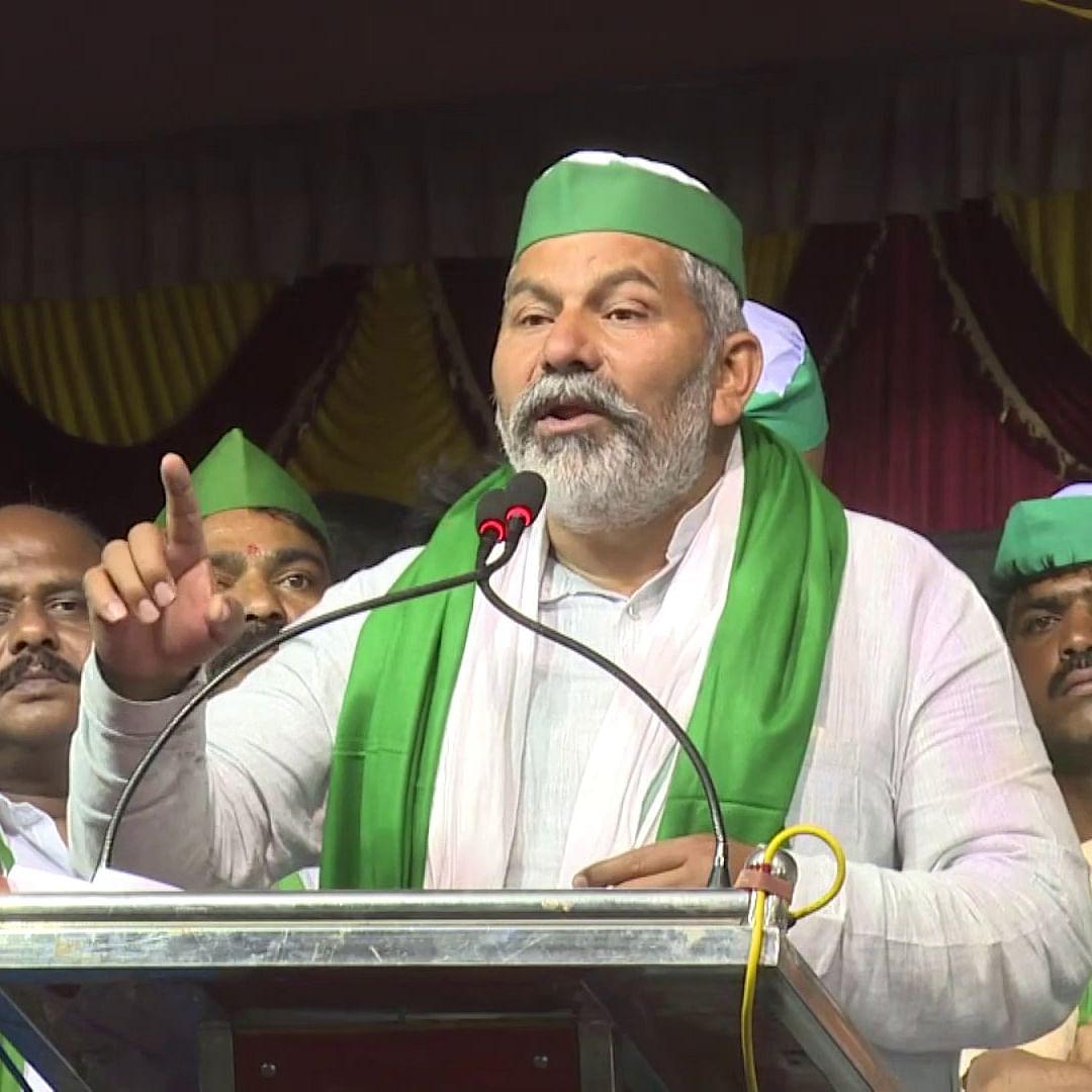 Make 'Delhi' in Bengaluru, gherao city from all sides: Rakesh Tikait to farmers in Karnataka