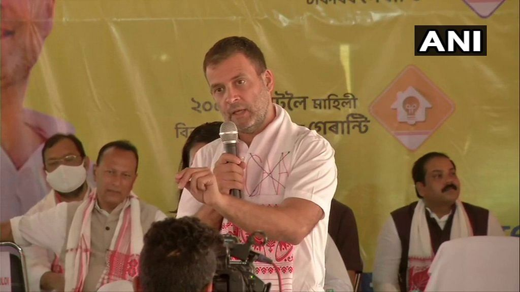 Will ensure CAA is not implemented in Assam if Congress comes to power: Rahul Gandhi