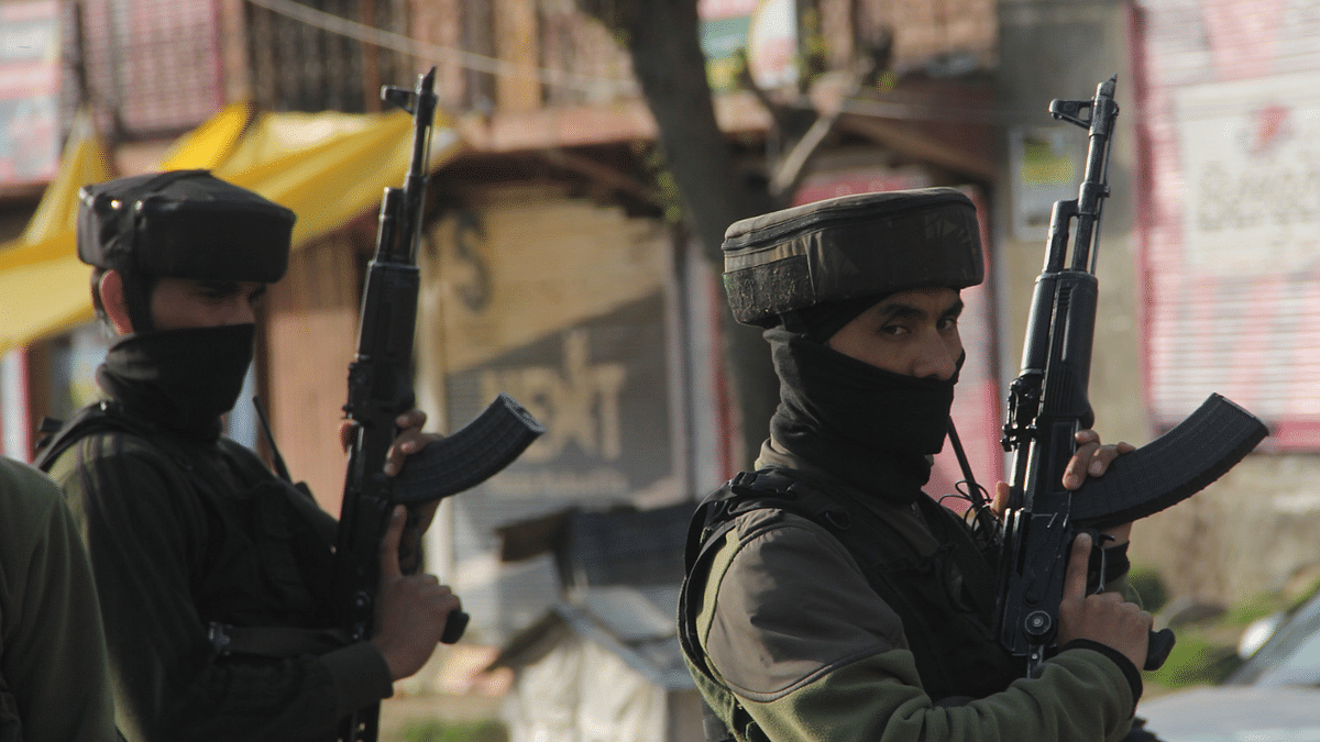 IN PICS:-CRPF soldier killed, 3 wounded in attack in Jammu and Kashmir's Lawaypora