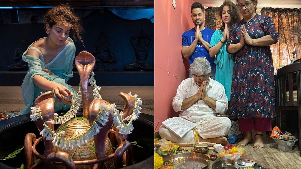 Maha Shivratri 2021: Kangana Ranaut, Kunal Kemmu, and other Bollywood stars pour in wishes
