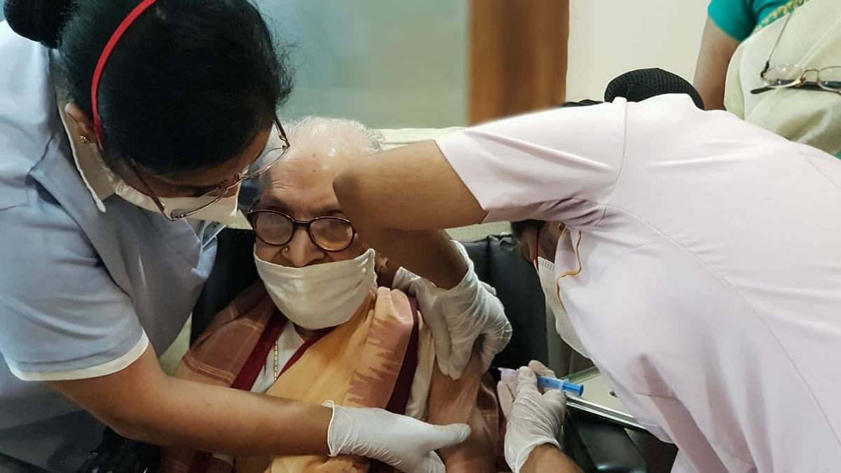 COVID-19 in India: 103-year-old becomes oldest woman to get vaccinated
