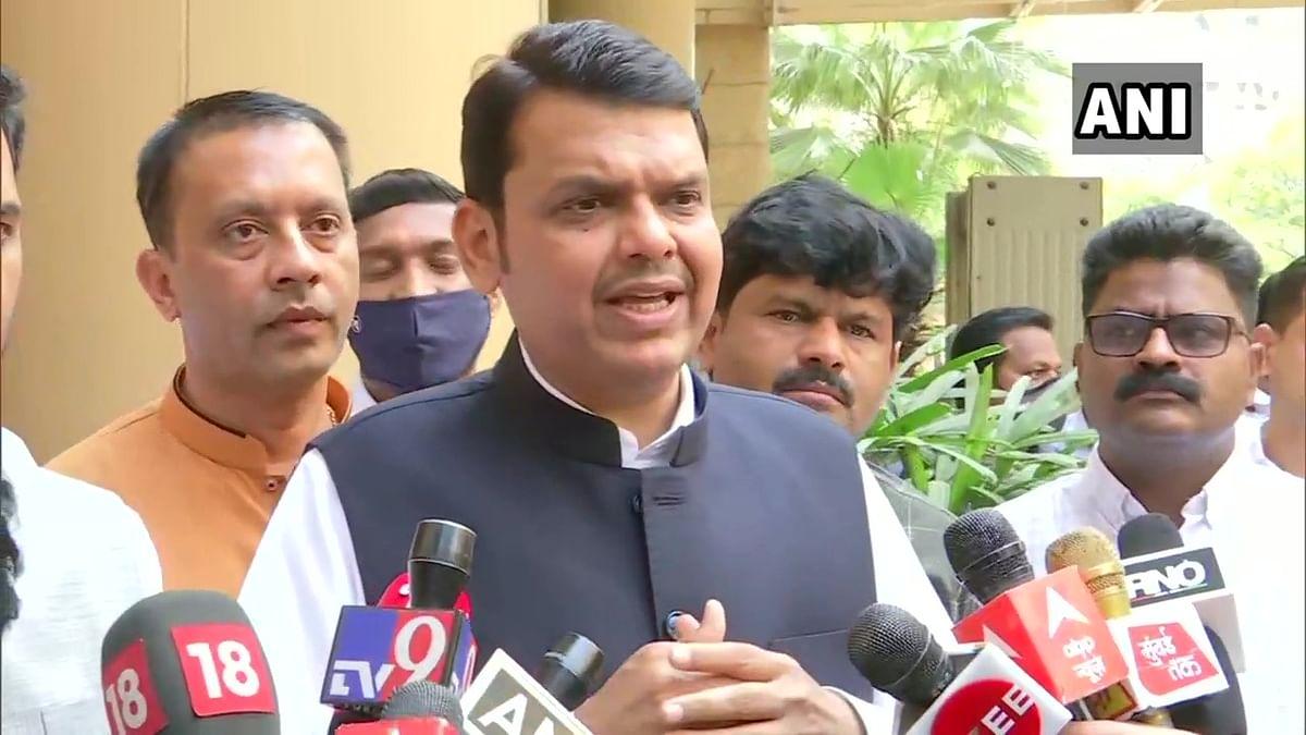 Mumbai: Ex-CM Devendra Fadnavis targets MVA on OBC quota cancellation