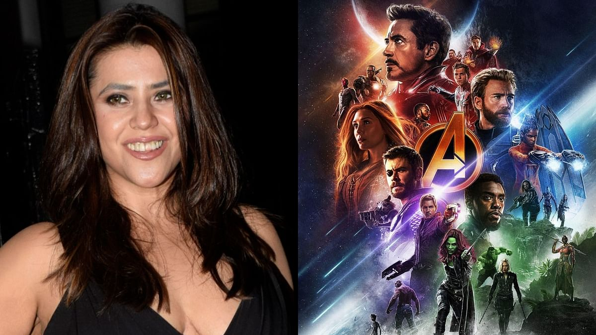 Ekta Kapoor compares 'Avengers: Infinity War' crossover with 'Maha Episode' of her daily soaps