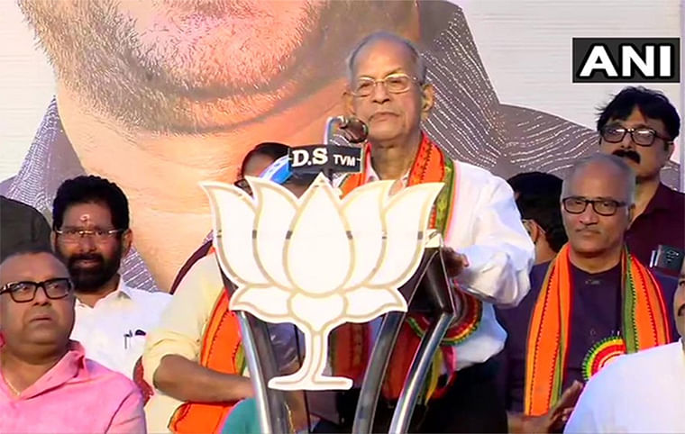 Have enough energy to work, want to use it for Kerala's development: Metro man E Sreedharan at Kerala's Vijay Yatra
