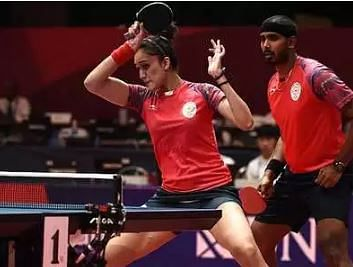 Asian Qualification Table Tennis: Mixed pair of Sharath, Manika seal Olympic berth