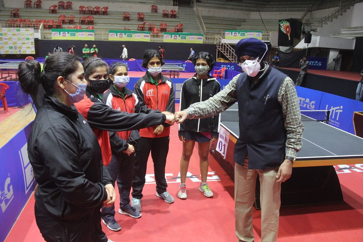 Before the start of championship matches