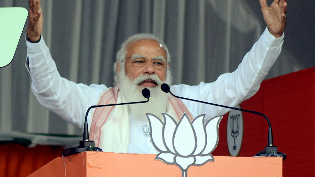 PM Modi to address public rallies in poll-bound West Bengal, Assam today