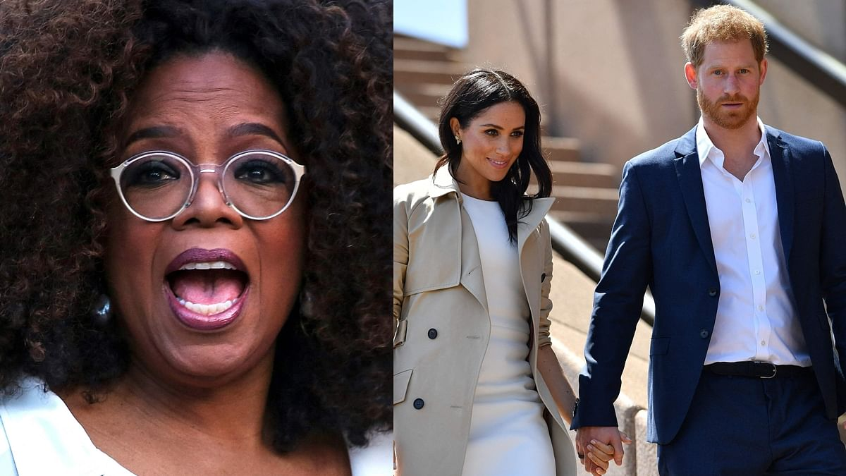 Meghan Markle texted THIS to Oprah while her interview was airing