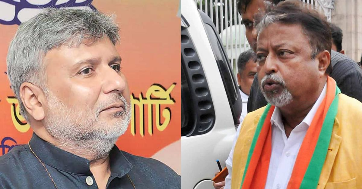 War of audio clips in West Bengal: After BJP's viral tape on Mamata, TMC releases Mukul Roy's conversation on how to influence EC