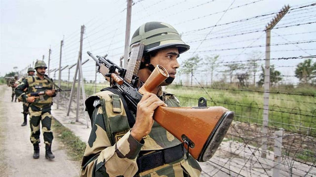 The man was moving in a suspicious manner and he was challenged by the troops, BSF said.