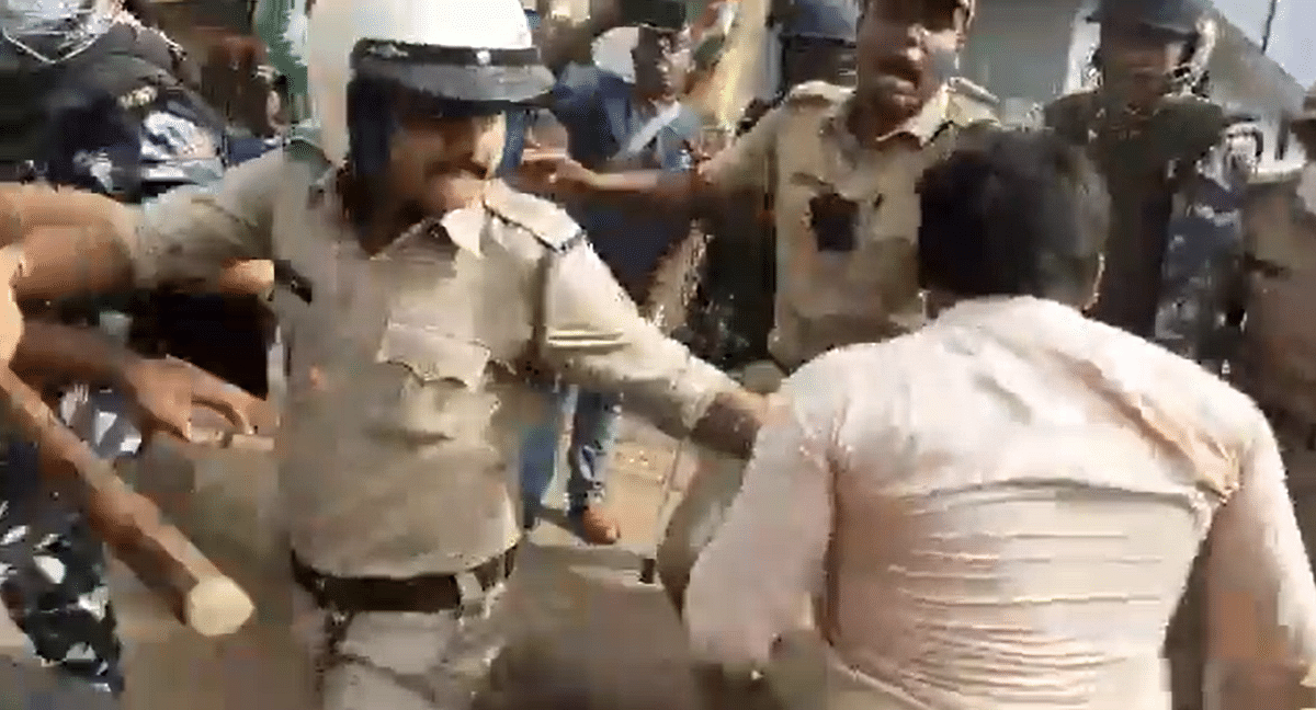 West Bengal Elections: Barrackpore turns into battlefield as TMC and BJP workers clash as party candidates file nomination papers