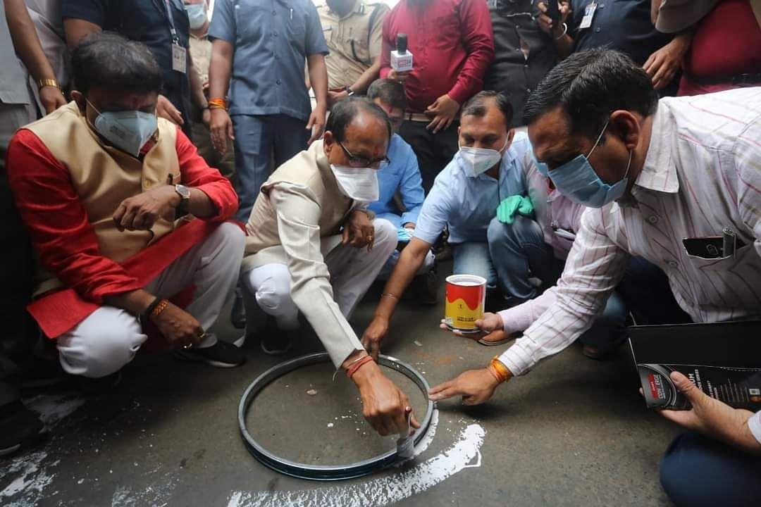 Bhopal: Chief minister launches Meri Suraksha, Mera Mask campaign to combat coronavirus