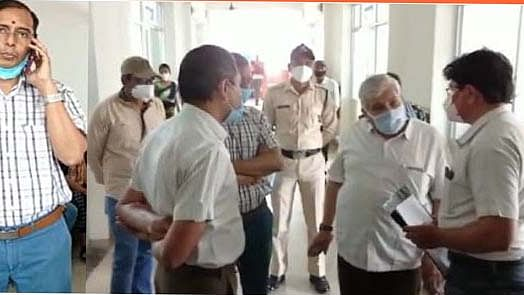 Officials at the hospital
