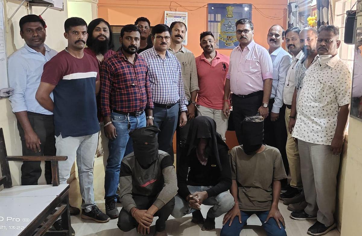 Three held from Mumbai for double murder in Goa