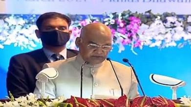 Madhya Pradesh: President Ram Nath Kovind asks judicial academies to also train staff for quick disposal of cases