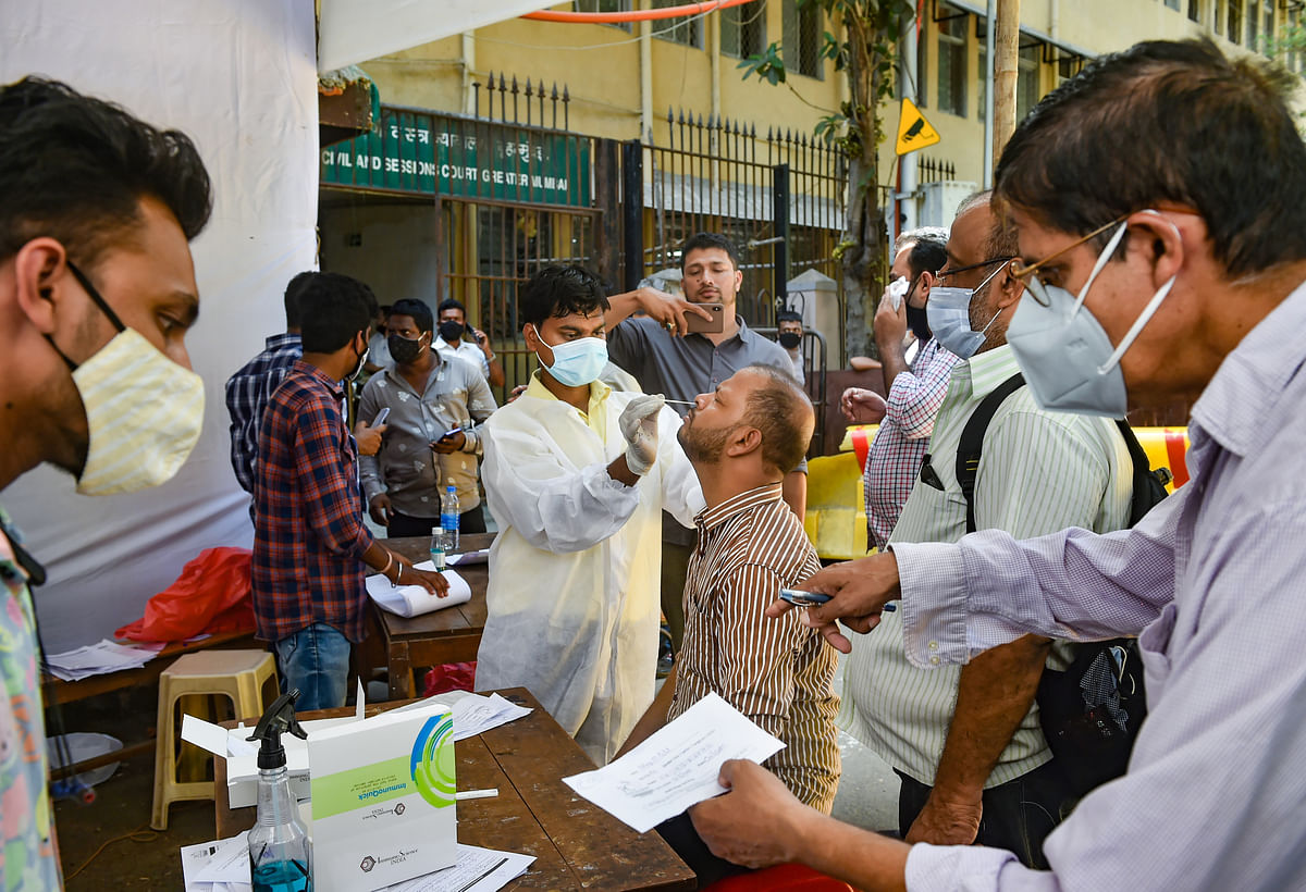 COVID-19 cases explode in Mumbai: City records highest peak since pandemic outbreak as 8,646 test positive
