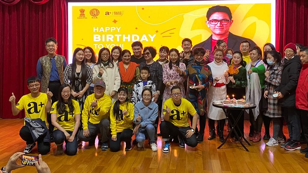 Aamir Khan's Chinese fans celebrate his 56th birthday at Indian Embassy in Beijing