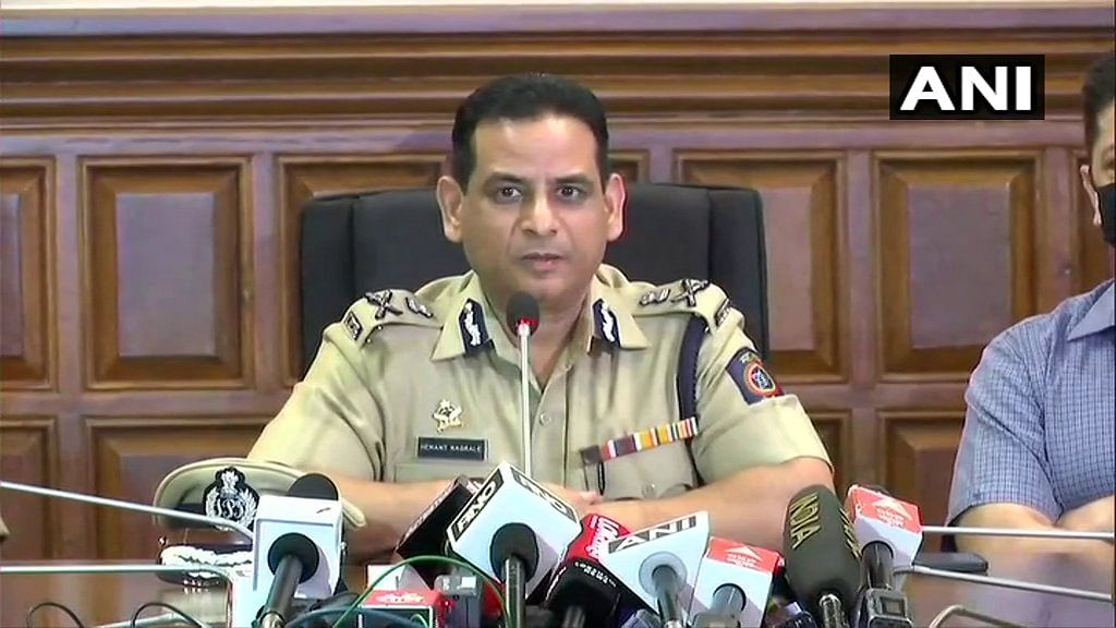 Mumbai Police Commissioner Hemant Nagarale