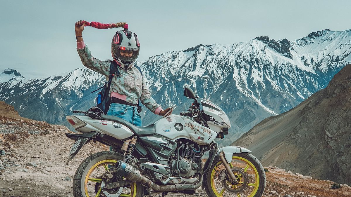 How Mumbai's 'Ridergirl' Vishakha Fulsunge carved a niche for herself in the male-dominated motovlogging industry