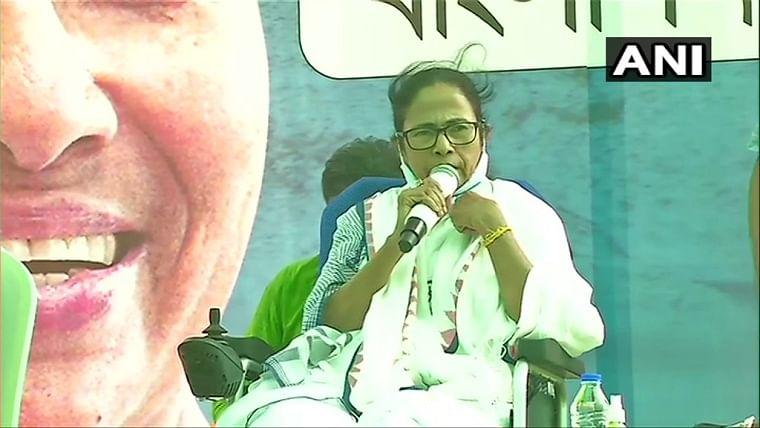 Adhikaris will be 'na ghar ka ghat ka': Mamata Banerjee in Nandigram ahead of the second phase of Bengal assembly elections