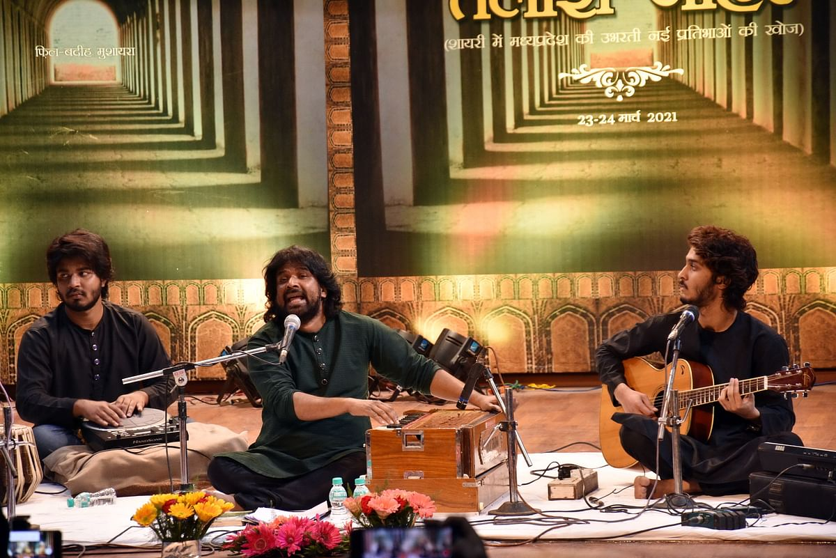 Talash-e-Jouhar programme held at Kukkut Bhavan in Bhopal on Tuesday evening