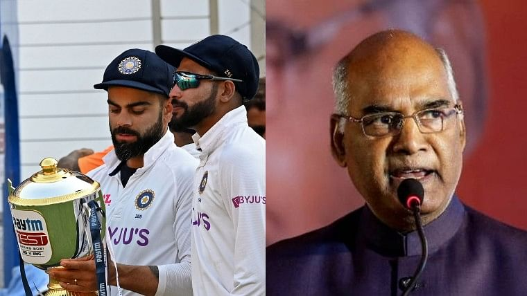 'Heartiest congratulations': President Ram Nath Kovind 'delighted' with India's series victory against England