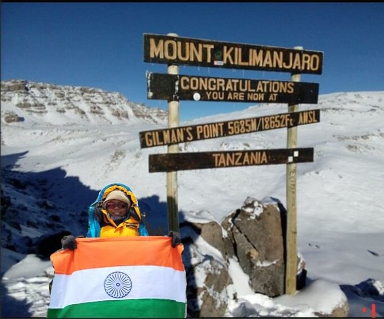9-year-old Ritwika Sree from Andhra Pradesh becomes Asia's youngest girl to scale Mount Kilimanjaro