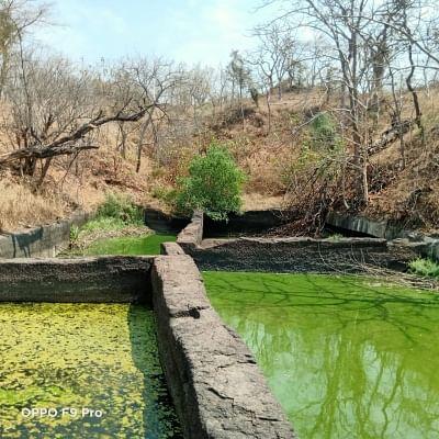 Water tank near Satavahana era mystery cave