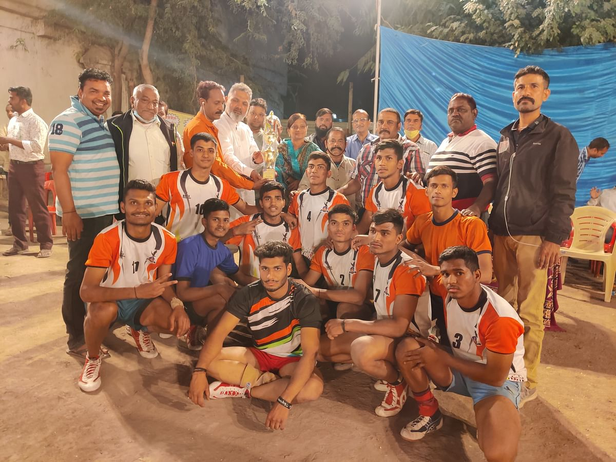 Kabaddi contest winners