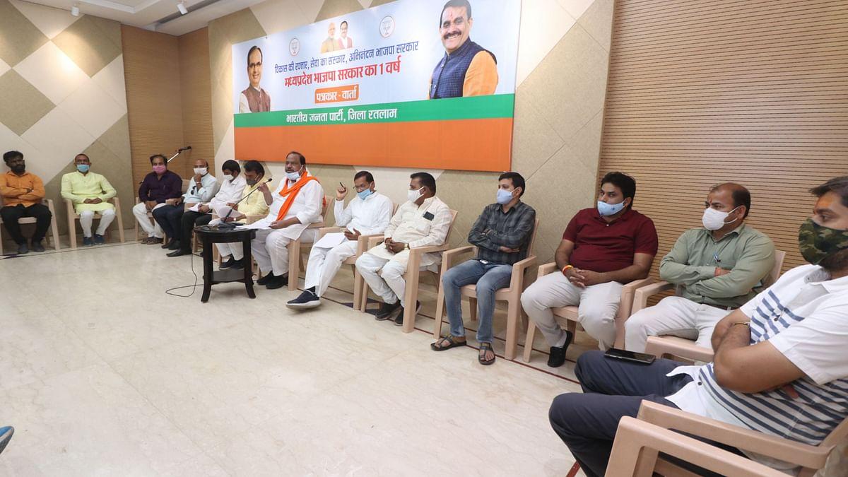 Madhya Pradesh: Ratlam's BJP MLAs praise govt for tackling Covid-19, blame Maharashtra for second wave