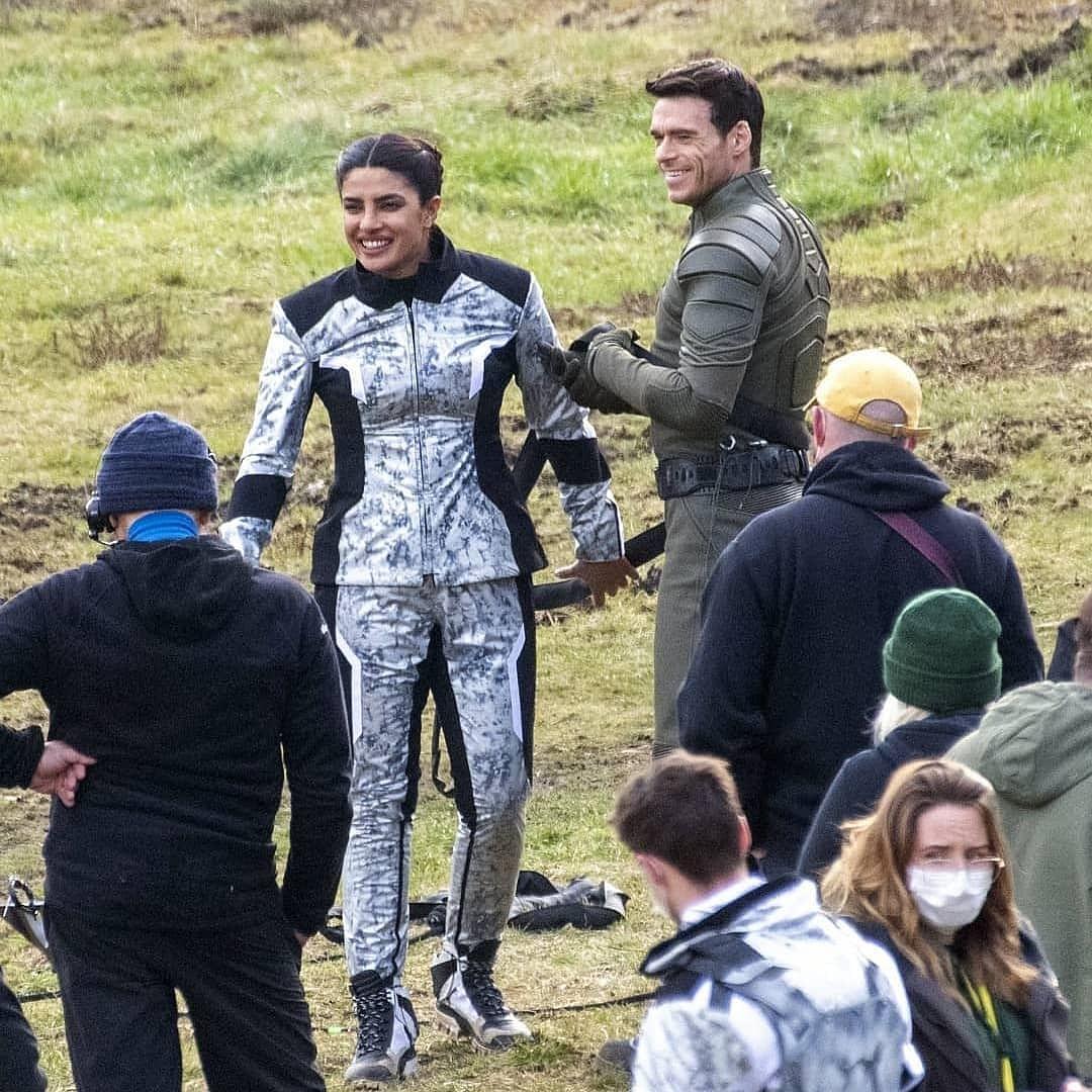 Citadel: Priyanka Chopra shoots intense action sequence with 'GoT' actor Richard Madden - see pics