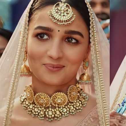Watch: Alia Bhatt turns into a bride for latest ad, netizens find it 'cringey'