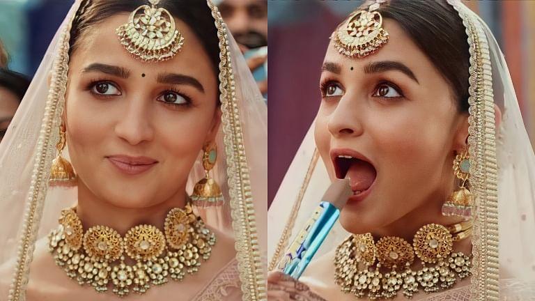 Watch: Alia Bhatt turns into a bride for latest ad, netizens find it 'cringey'
