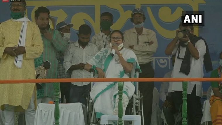 'Won't be allowed to follow your 'dharma' if BJP is voted': Mamata Banerjee in Jhargram ahead of West Bengal Assembly polls