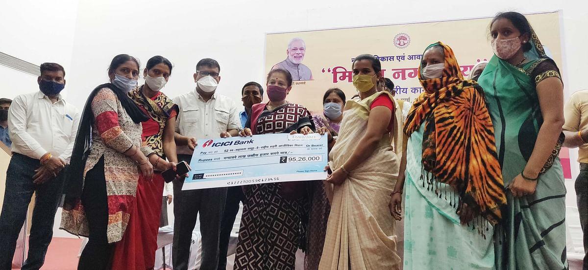 Madhya Pradesh: 1,000 beneficiaries of Burhanpur receive an installment of construction under PM Awas Yojna